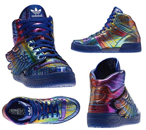 Basket Adidas Ailes Jeremy Scott