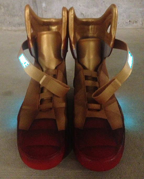 Tony Stark – Chaussures Collector