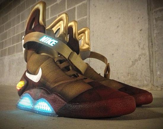 Amis geeks, les baskets d'Iron Man !