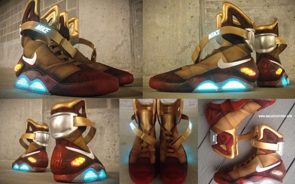 Nike Mag Iron Man: Enfilez votre costume de super-héros!