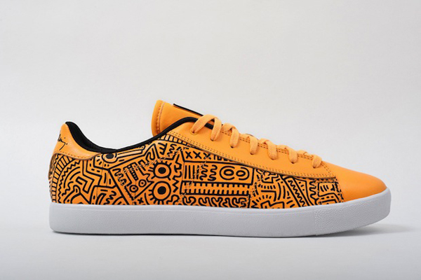 Keith Haring x Reebok orange