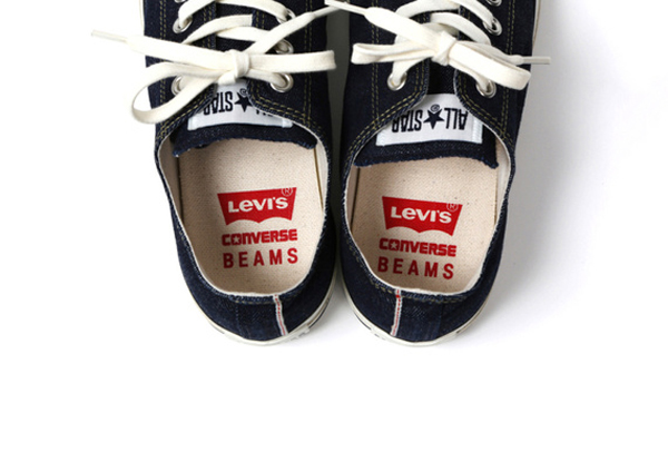 Levi's x Converse Denim All Stars !