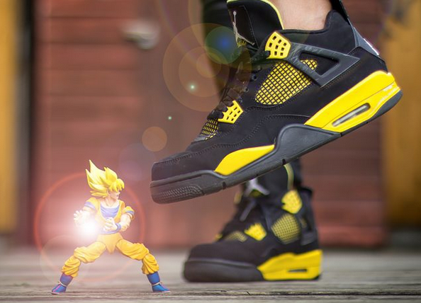 Air Jordan 4 vs Manga : le fight sur Instagram !