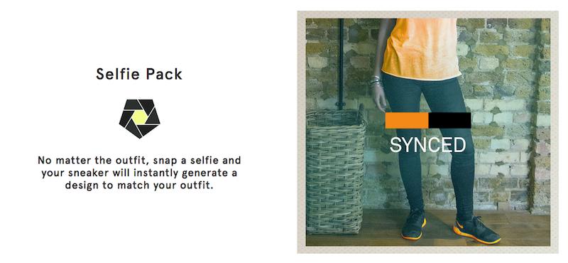 The Shift sneaker Selfie Pack