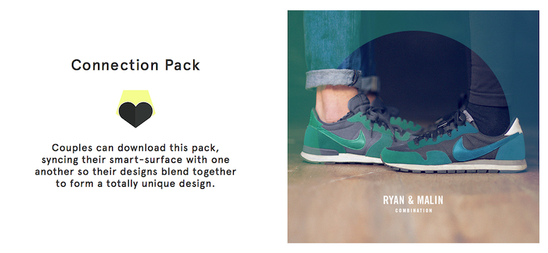 The shift Sneaker Connection Pack